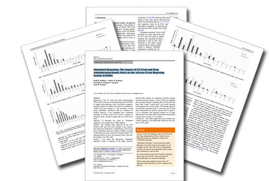 Stimulated Reporting: The Impact of FDA Alerts on Real World Data from FAERS