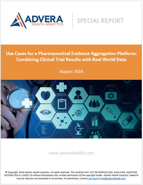 Use Cases of a Pharmaceutical Evidence Aggregation Platform: Combining Clinical Trial Results with Real World Data